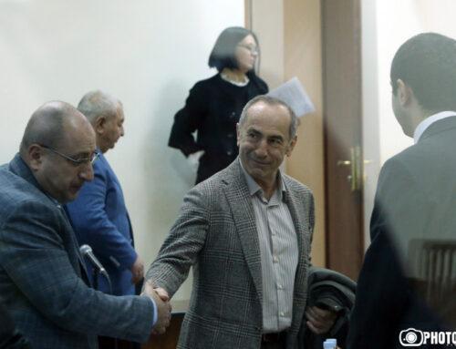 Ռոբերտ Քոչարյանի և մյուսների գործով դատական նիստը մեկ շաբաթով հետաձգվեց