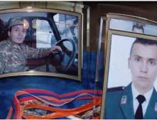 Ոստիկանության զորքերի ծառայող Արտյոմ Ալոյանը զոհվել է հորեղբոր ձեռքերի մեջ (տեսանյութ)