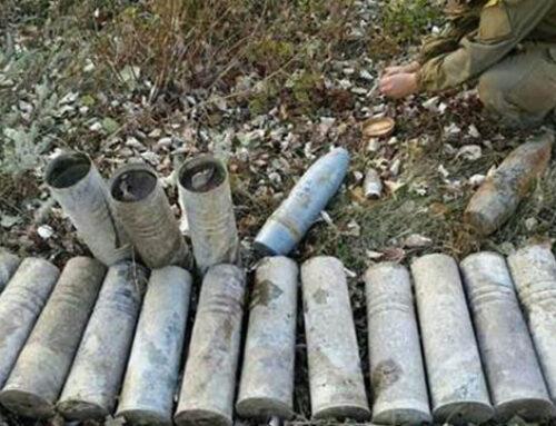 Զենք-զինամթերքի կվնասազերծեն Մարտունիում, Մարտակերտում, Ննգի, Խնածախ, Այգեստան, Փառուխ համայնքներում, Մարտակերտի գյուղերում