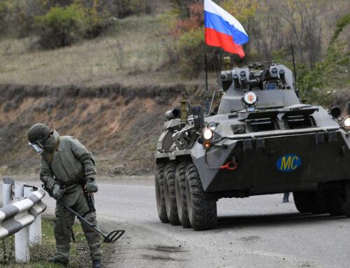 Ռուս խաղաղապահները ԼՂ-ում վերջին մեկ օրում 128 պայթյունավտանգ առարկա են ոչնչացրել
