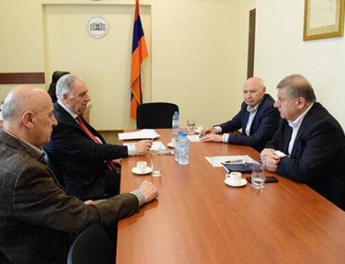Պաշտոնաթող դատավորները հանդիպել են ԲԴԽ նախագահի պաշտոնակատար Գագիկ Ջհանգիրյանի հետ