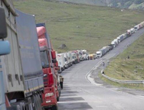 Լարսը բաց է. ռուսական կողմում կա մոտ 250 կուտակված բեռնատար ավտոմեքենա