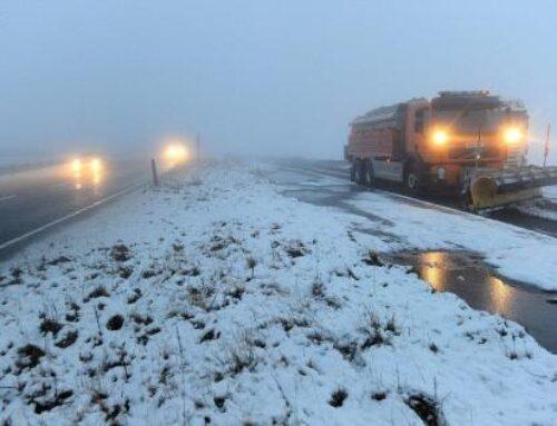 Աշոցքի, Ամասիայի, Արագածի և Ապարանի տարածաշրջաններում ձյուն է տեղում