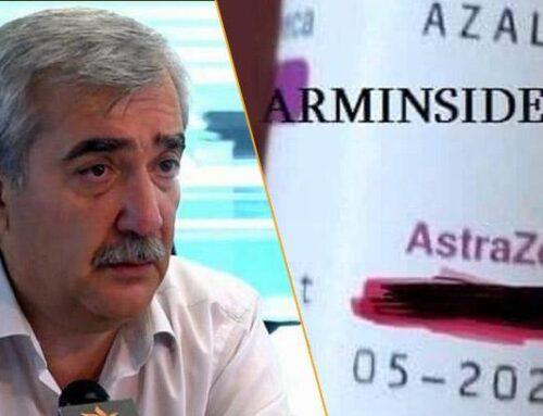 Անդրանիկ Քոչարյանն առաջարկել է ժամկետն անցնող «Asterazeneca»-ն ներարկել 55-ից բարձր քաղաքացիներին. Դեժավյու