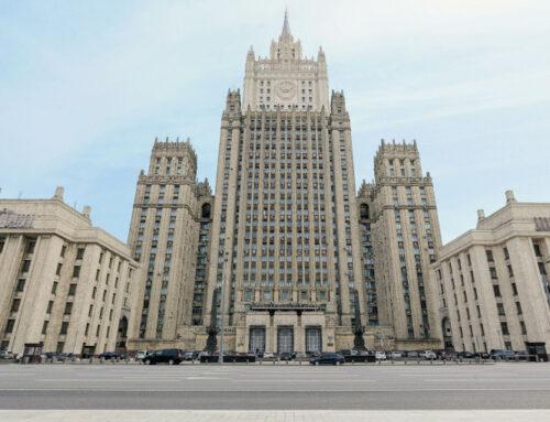 ՌԴ ԱԳՆ-ն բողոքի նոտա է հղել Պրահային ռուս դիվանագետներին արտաքսելու որոշման պատճառով