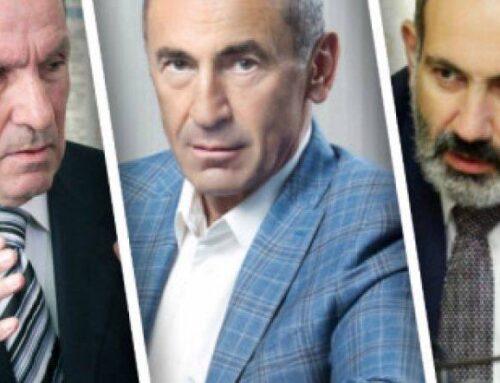 «Ինչ ուզում է` թող դուրս տա. նա արդարանալու ոչ մի ճար չունի». Լևոն Տեր-Պետրոսյանի և Քոչարյանի գրասենյակներն արձագանքել են Փաշինյանին
