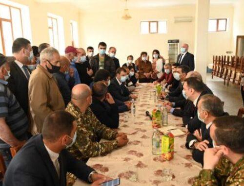 Դավիթ Բեկում ՄԻՊ-ն ու նախագահը քննարկել են պատերազմից հետո գյուղի հետ կապված իրավիճակը