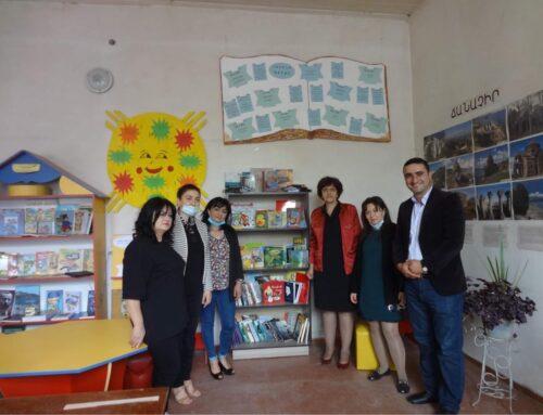 Հայաստանի մարզերում իրականացվել են «Ընթերցանության խթանման միջոցառումներ և վարպետության դասեր» ծրագիրը
