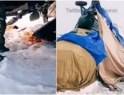 Քարվաճառում ադրբեջանական Մի-8/17 ուղղաթիռ է վթարի ենթարկվել
