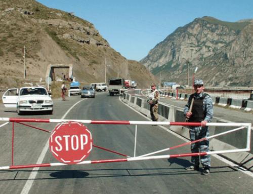 ՀՀ տարածքում կան փակ ճանապարհներ, Լարսը ևս փակ է, 370 բեռնատար կա կուտակված