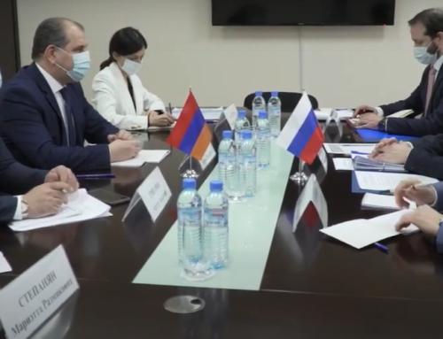 Քաղաքական խորհրդակցություններ ՀՀ և ՌԴ ԱԳ նախարարությունների միջև (տեսանյութ)