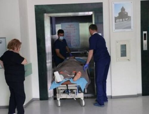 Ականապայթյունային վիրավորում է ստացել ԱԻ պետական ծառայության փրկարար ուժերի վարչության աշխատակից