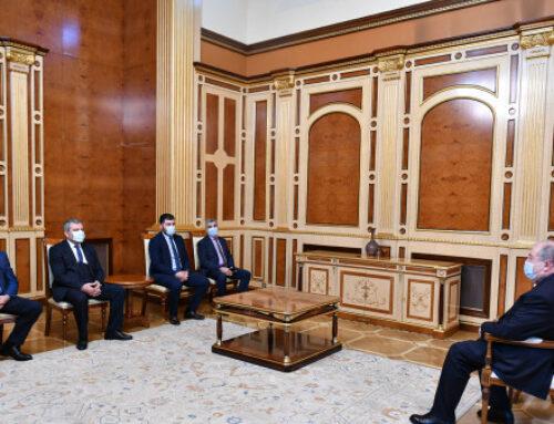 Արմեն Սարգսյանն ընդունել է մի շարք կուսակցությունների ղեկավարների