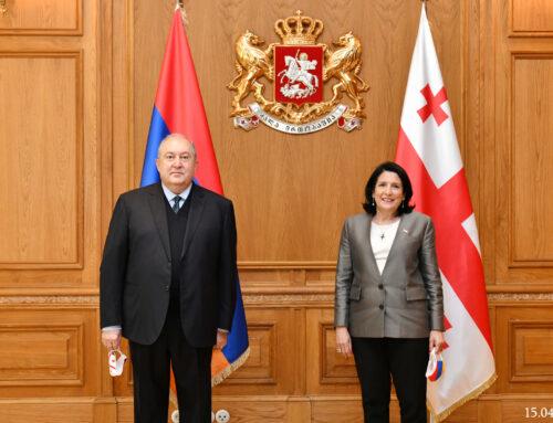 Արմեն Սարգսյանը նամակ է հղել Վրաստանի նախագահին