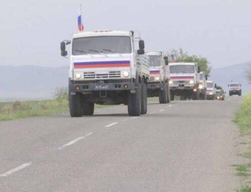 Ռուս խաղաղապահները 200տ հումանիտար բեռ են հատկացրել ադրբեջանական կողմին