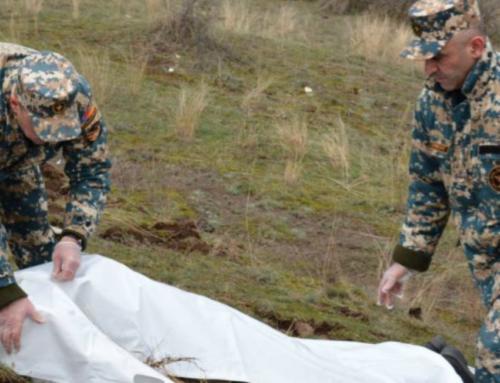 Ջրականի շրջանում այսօր հայտնաբերվել է ևս մեկ հայ զինծառայողի աճյուն