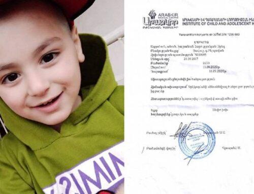 Լսողական սարքերով ընդհանրապես չի լսում. սահմանամերձ Բերդավանի փոքրիկ բնակչին վիրահատելու համար գումար է անհրաժեշտ