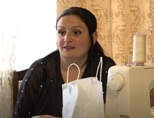 Թեհմինե Հանիսյանն ուզում է իր էկոպայուսակները շուկա հանել՝ պայքարելով պոլիէթիլենի դեմ (տեսանյութ)