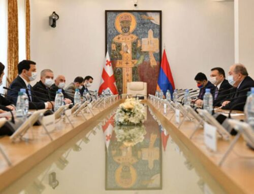 Արմեն Սարգսյանն այցելել է Վրաստանի խորհրդարան