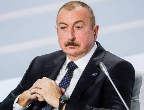 Ալիևը հայտարարել է, որ «հայ հասարակությունը հիվանդ է ու լավ բժշկի կարիք ունի»
