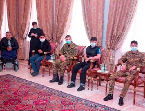 Գարեգին Բ-ն ընդունել է Ավստրիա բուժման մեկնող զինվորականներին. առաջին փուլում բուժում կստանան հինգ զինվորականներ