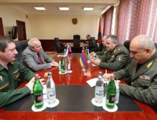 ՀՀ ԶՈՒ գլխավոր շտաբի պետն ընդունել է ՌԴ դեսպանին. Քննարկել են ռազմական համագործակցության ծրագրերը