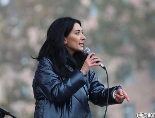 Դուք պատժել եք ամբողջ Հայաստանը, դուք ոչնչացրել եք Հայաստանը, դուք հաջողել եք, ուղղակի անէացեք մարդակերներ. Արփինե Հովհաննիսյան
