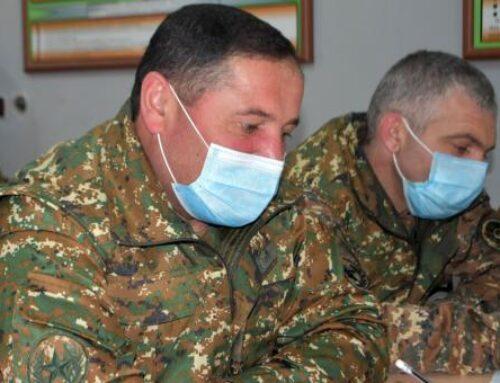 ՀՀ ԶՈւ 4-րդ զորամիավորումում անցկացվել են շտաբային մարզումներ