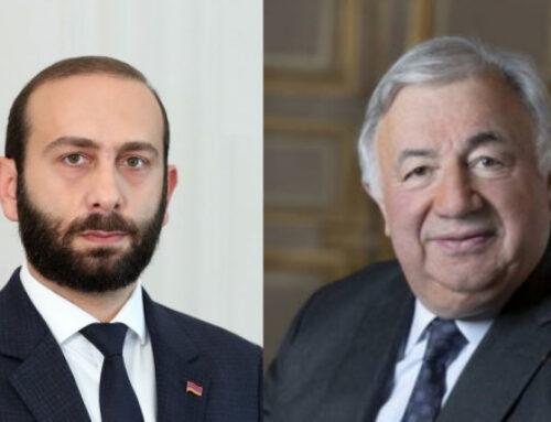 Հայաստան կժամանի Ֆրանսիայի Սենատի նախագահ Ժերար Լարշեի գլխավորած պատվիրակությունը