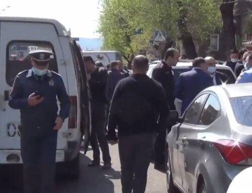 Ոստիկանության տեսանյութը՝ երթուղայինում տեղի ունեցած սպանության մասին