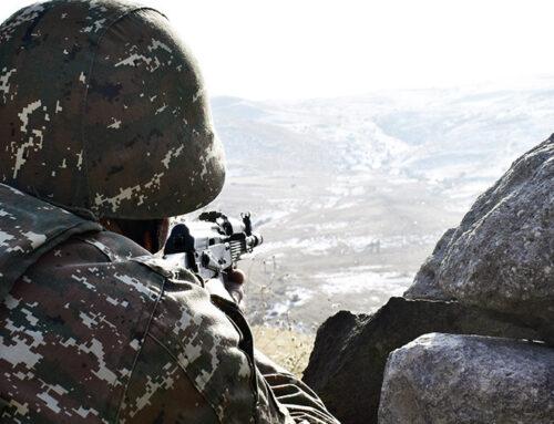 ՀՀ պետական սահմանի հայ-ադրբեջանական շփման գծի ամբողջ երկայնքով օպերատիվ մարտավարական կայուն իրավիճակը չի փոփոխվել