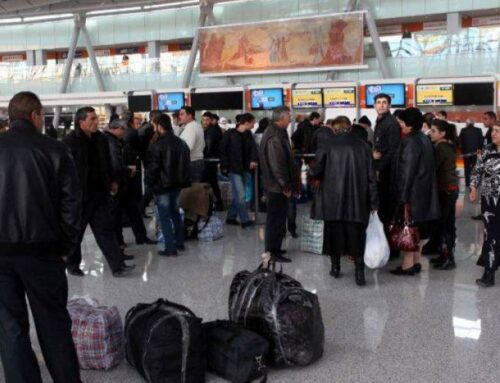 Մարտ ամսին Հայաստանից մեկնել է 74,197 մարդ, ժամանել՝ 42,283