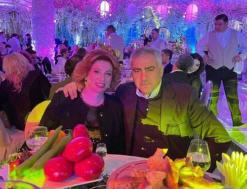 Սամվել Կարապետյանի կինը նոր լուսանկար է հրապարակել ամուսնու հետ. Նրանք Գագիկ Ծառուկյանի որդու հարսանիքին են մասնակցում
