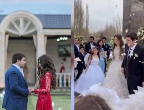Կադրեր Գագիկ Ծառուկյանի որդու հարսանիքից (Տեսանյութ)