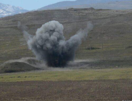 Ակնայում (Աղդամ) ականի պայթյունից ադրբեջանցին ծանր վիրավորում է ստացել