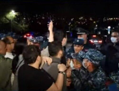 «Դավաճա՛ն, թո՛ւրք». Փաշինյանի շարասյանը հաջողվեց մտնել Երևան