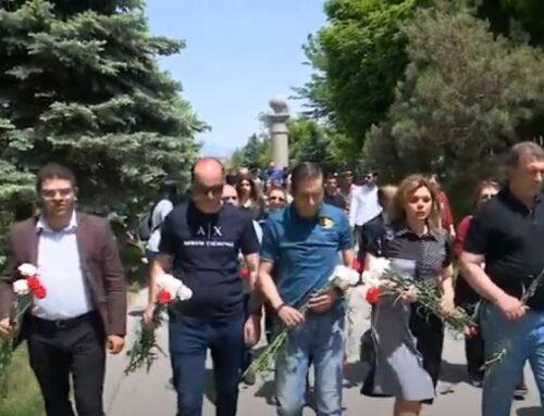«Ոչ ոք չի մոռացվել»․ ԲՀԿ ներկայացուցիչներն այցելել են «Հաղթանակ» զբոսայգի և «Եռաբլուր»