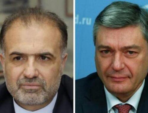 Ռուդենկոն ու Ջալալին քննարկել են ԼՂ հարցն ու իրավիճակը հայ-ադրբեջանական սահմանին
