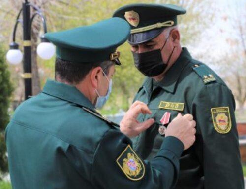 Քրեակատարողական ծառայության՝ պատերազմին մասնակցած ծառայողները պարգևատրվել են