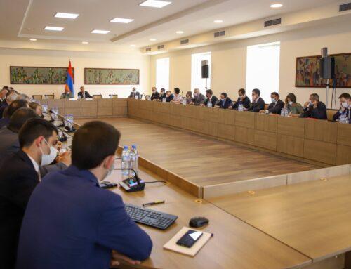 ԱԳ նախարարի տեղակալը հանդիպում է ունեցել Հայաստանում հավատարմագրված դիվանագիտական ներկայացուցչությունների ղեկավարների հետ
