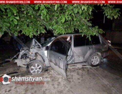 Ողբերգական դեպք Արմավիրի մարզում. 58–ամյա վարորդը Nissan X-Trail-ը վարելիս հանկարծամահ է եղել և բախվել ընկուզենուն