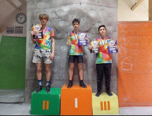13-ամյա Նարեկ Գրիգորյանը Ժայռամագլցում սպորտաձևում նվաճել է 3-րդ հորիզոնականը
