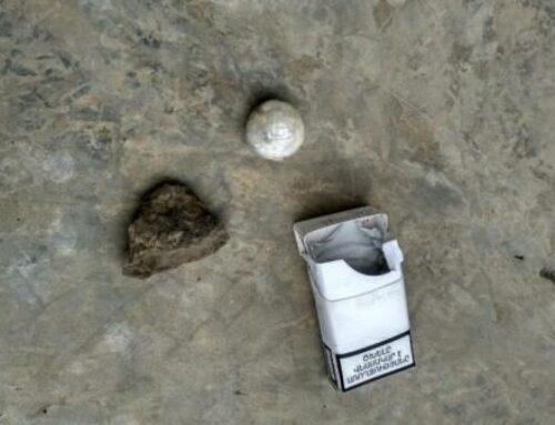 «Վանաձոր» ՔԿՀ-ում հայտնաբերել են մարիխուանայի նմանվող 5,8 գրամ դեղնականաչավուն զանգված