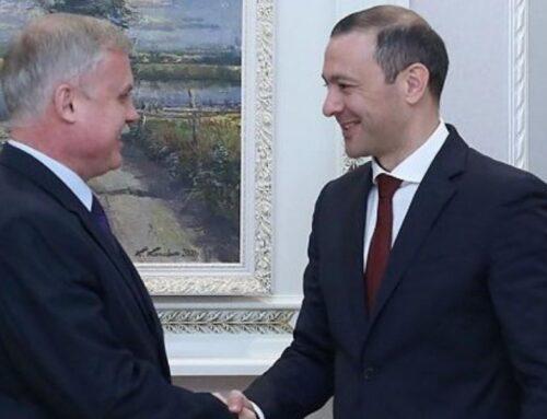 ԱԽ քարտուղար Գրիգորյանը Ստանիսլավ Զասին ներկայացրել է հայ-ադրբեջանական սահմանին այս պահի դրությամբ փաստացի իրավիճակը