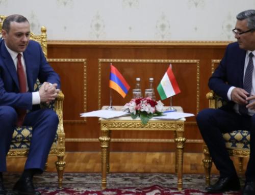 Հայաստանի ԱԽ քարտուղարը Տաջիկստանի իր գործընկերոջն է ներկայացրել իրավիճակը Սյունիքի սահմանին
