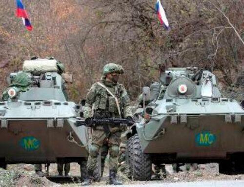 «Իրավունք»․ Ռուս խաղաղապահներն ուժեղացված հսկողություն են սկսել Երեւան-Ստեփանակերտ ճանապարհին
