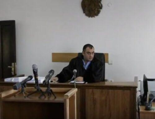 Ռուբեն Վարդազարյանի բողոքը քննող դատավոր Դավիթ Հարությունյանը ինքնաբացարկ չհայտնեց