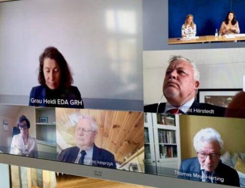 ԵԱՀԿ նախագահն անձնական ներկայացուցիչների հետ քննարկել է հակամարտությունների, այդ թվում՝ ԼՂ խնդրի կարգավորման հեռանկարները