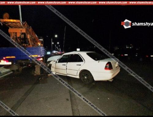 Խոշոր ավտովթար՝ Արմավիրի մարզում. «Mercedes»-ը բախվել է «ГАЗ 5312»-ի ավտոաշտարակին, կան վիրավորներ