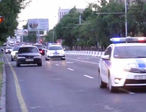 Սերգեյ Լավրովի ավտոշարասյունը Երևանում (տեսանյութ)
